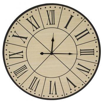 Ceas de perete, MDF, diametru 60 cm