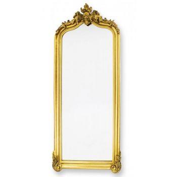 Oglinda de perete, Gold, 219 cm