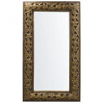 Oglinda de perete, rama cu model, 232x132 cm