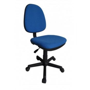 Scaun directorial US08 Siena textil albastru