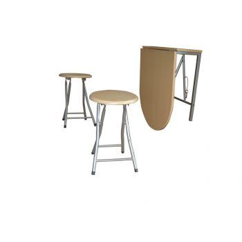 Set masa cu doua scaune Napoli