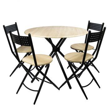 Set masa Kaliope cu 4 scaune|Unic Spot
