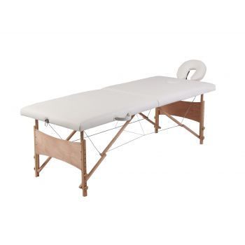 Masa de masaj, alb