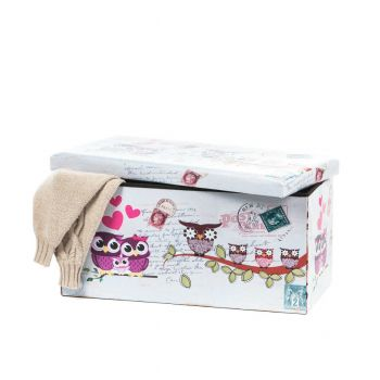 Taburet Design 76.5X38 Owls