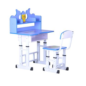 Set birou copii albastru