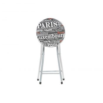 Taburet pliant Cosmo Paris negru