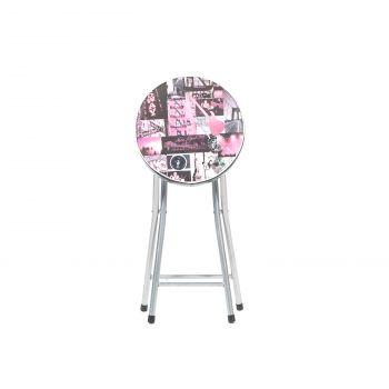 Taburet pliant Cosmo  roz