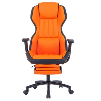 Scaun directorial US77 Kronos portocaliu-negru