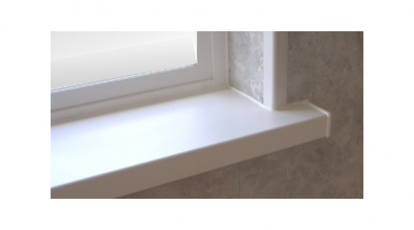 Piese laterale glaf din PVC alb